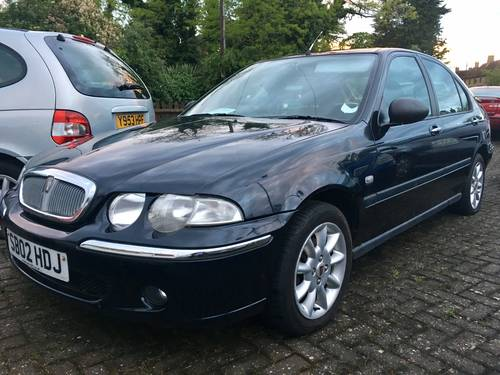 2002 Rover 45 1.6 IS 5dr ideal starter project For Sale (picture 1 of 6)