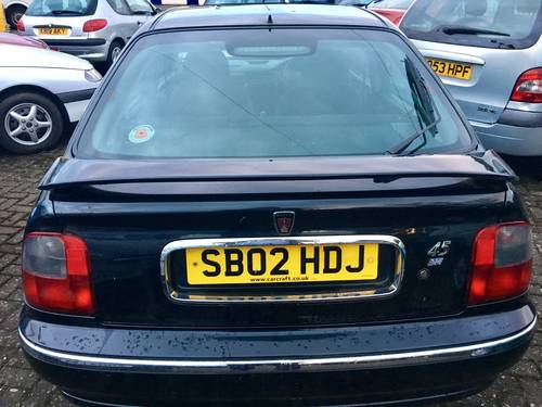 2002 Rover 45 1.6 IS 5dr ideal starter project For Sale (picture 5 of 6)