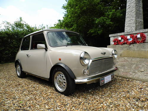 1996 Rover Mini balmoral in Champagne beige For Sale (picture 1 of 6)