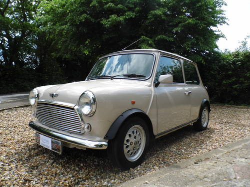 1996 Rover Mini balmoral in Champagne beige SOLD (picture 2 of 6)