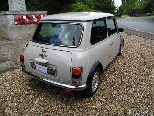 1996 Rover Mini balmoral in Champagne beige SOLD (picture 3 of 6)