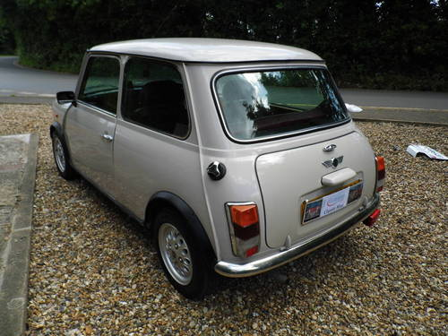 1996 Rover Mini balmoral in Champagne beige SOLD (picture 4 of 6)
