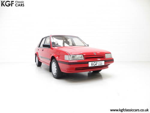1991 Possibly The Most Cosseted Rover Montego 1.6LX Ever SOLD (picture 1 of 6)
