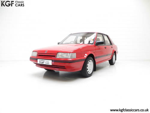 1991 Possibly The Most Cosseted Rover Montego 1.6LX Ever SOLD (picture 2 of 6)