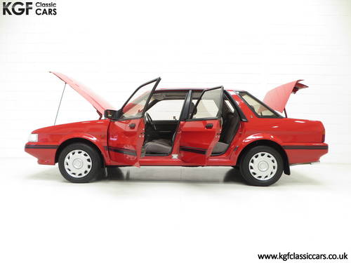 1991 Possibly The Most Cosseted Rover Montego 1.6LX Ever SOLD (picture 3 of 6)