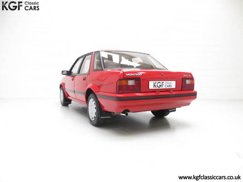 1991 Possibly The Most Cosseted Rover Montego 1.6LX Ever SOLD (picture 4 of 6)