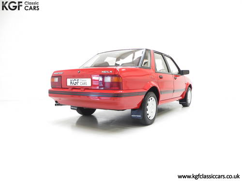 1991 Possibly The Most Cosseted Rover Montego 1.6LX Ever SOLD (picture 5 of 6)