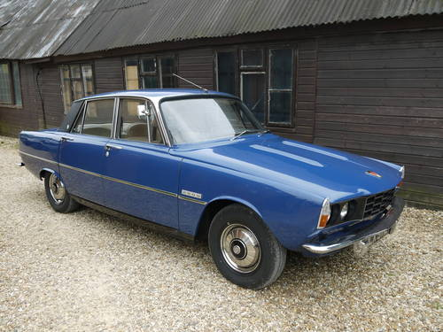 1973 ROVER P6 2000SC SALOON -  EXCELLENT CONDIITON & 58K MILES !! SOLD (picture 1 of 6)