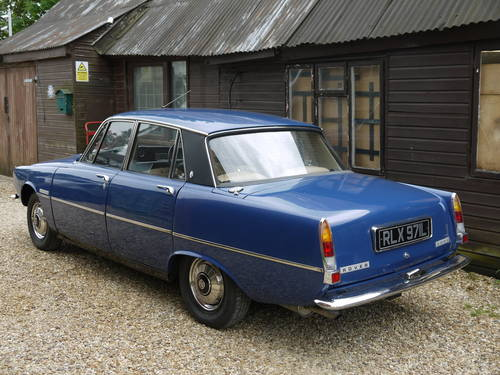 1973 ROVER P6 2000SC SALOON -  EXCELLENT CONDIITON & 58K MILES !! SOLD (picture 2 of 6)