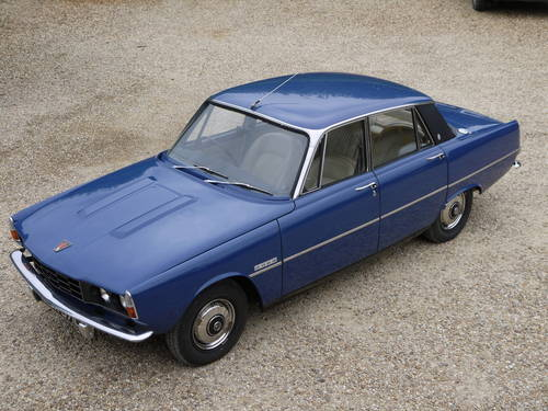 1973 ROVER P6 2000SC SALOON -  EXCELLENT CONDIITON & 58K MILES !! SOLD (picture 3 of 6)