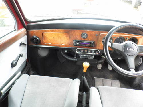 1994 Rover Mini Cabriolet in Nightfire red For Sale (picture 5 of 6)