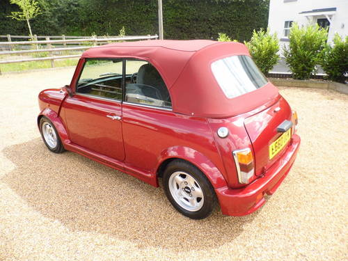 1994 Rover Mini Cabriolet in Nightfire red For Sale (picture 6 of 6)