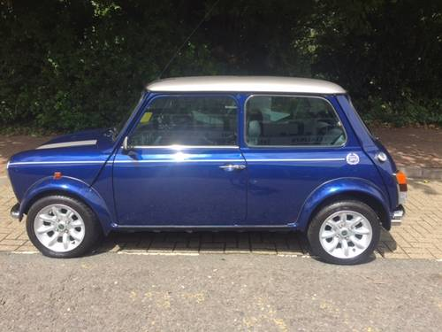 2000 Mini Cooper sport 33 miles in Tahiti blue For Sale (picture 3 of 6)