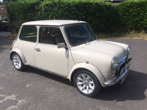 1998 Mini Cooper Sport in rare Whitehall beige only 300 made For Sale (picture 1 of 6)