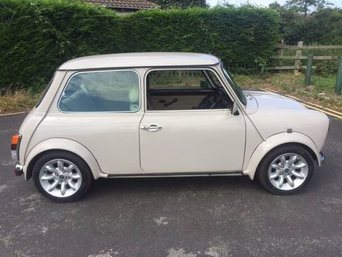 1998 Mini Cooper Sport in rare Whitehall beige only 300 made For Sale (picture 2 of 6)