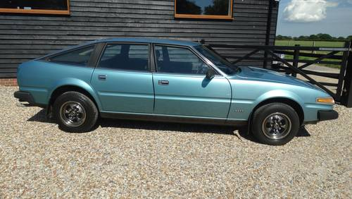 1980 Rover SD1. 2600 RESTORED AUTO LHD For Sale (picture 1 of 1)