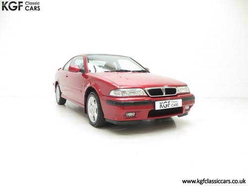 1998 A Full-Blooded R8 Rover 200 1.8VVC Coupe Tomcat 29,544 mile  SOLD (picture 1 of 6)