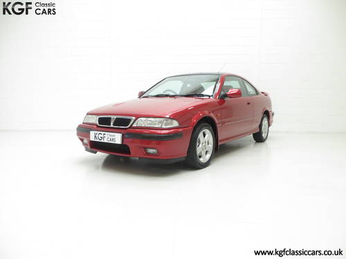 1998 A Full-Blooded R8 Rover 200 1.8VVC Coupe Tomcat 29,544 mile  SOLD (picture 2 of 6)