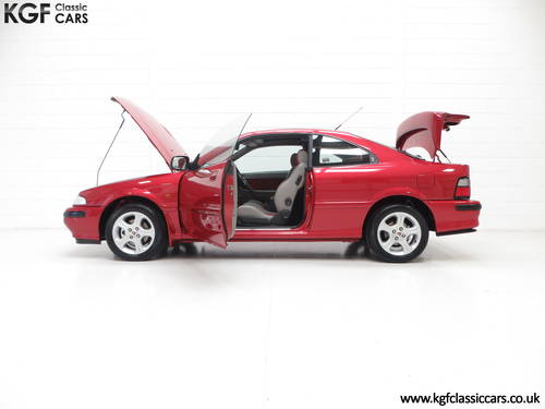 1998 A Full-Blooded R8 Rover 200 1.8VVC Coupe Tomcat 29,544 mile  SOLD (picture 3 of 6)