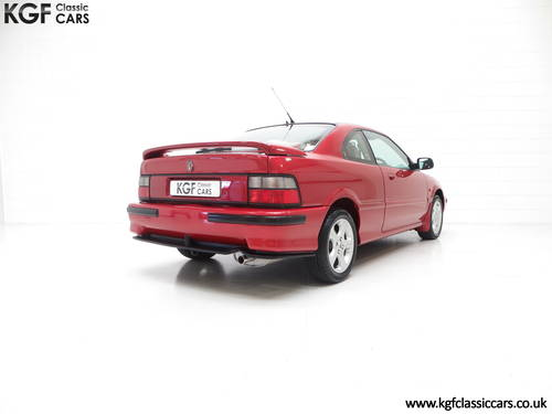 1998 A Full-Blooded R8 Rover 200 1.8VVC Coupe Tomcat 29,544 mile  SOLD (picture 5 of 6)