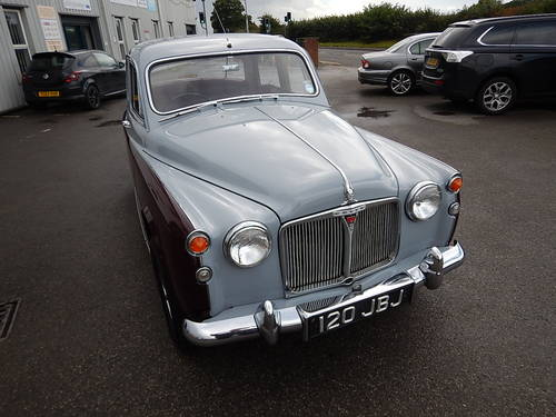 1961 ROVER 80 P4 ~ Manual with Overdrive ~  SOLD (picture 2 of 6)