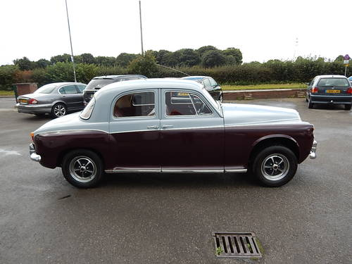1961 ROVER 80 P4 ~ Manual with Overdrive ~  SOLD (picture 3 of 6)