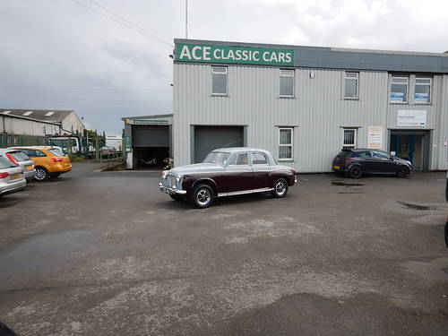 1961 ROVER 80 P4 ~ Manual with Overdrive ~  SOLD (picture 6 of 6)