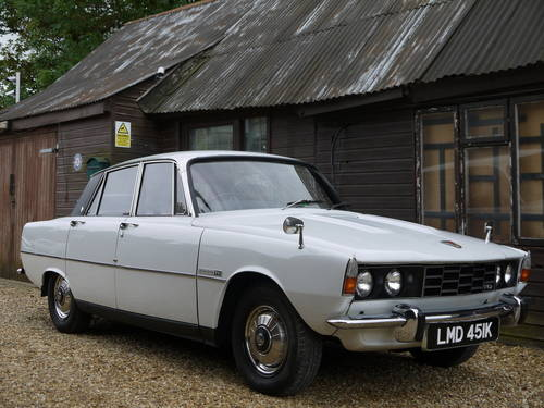 1972 ROVER P6 2000TC SALOON - JUST 57,000 MILES FROM NEW !! SOLD (picture 1 of 6)