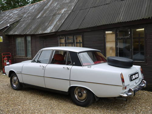 1972 ROVER P6 2000TC SALOON - JUST 57,000 MILES FROM NEW !! SOLD (picture 2 of 6)