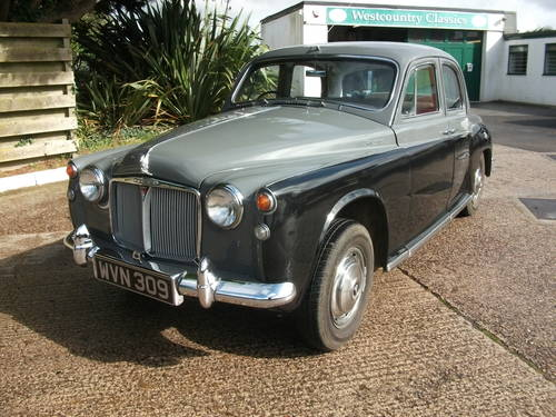 1960 Rover P4 100 with Overdrive! SOLD (picture 1 of 6)