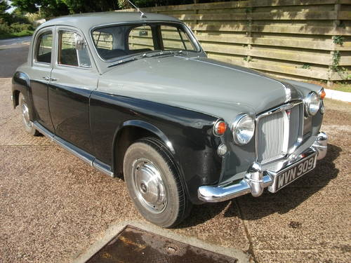 1960 Rover P4 100 with Overdrive! SOLD (picture 2 of 6)