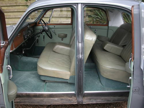1960 Rover P4 100 with Overdrive! SOLD (picture 5 of 6)