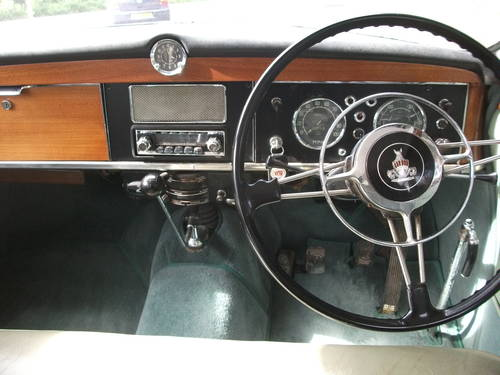 1960 Rover P4 100 with Overdrive! SOLD (picture 6 of 6)