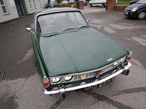1969 ROVER P6 Series One 3.5 Litre V8 Automatic Saloon ~  SOLD (picture 2 of 6)