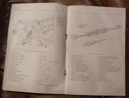 1957 WORKSHOP MANUAL ROVER 105R For Sale (picture 3 of 3)