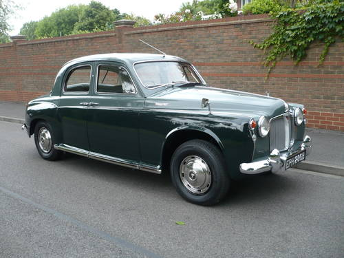 1964 ROVER P4 95  64,000 miles only. Supplied new by ourselves. SOLD (picture 1 of 6)