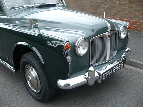 1964 ROVER P4 95  64,000 miles only. Supplied new by ourselves. SOLD (picture 2 of 6)
