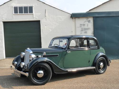 Rover 10 Doctor's Coupe, beautifully restored, SOLD SOLD (picture 1 of 6)