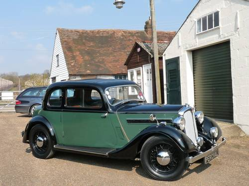 Rover 10 Doctor's Coupe, beautifully restored, SOLD SOLD (picture 5 of 6)