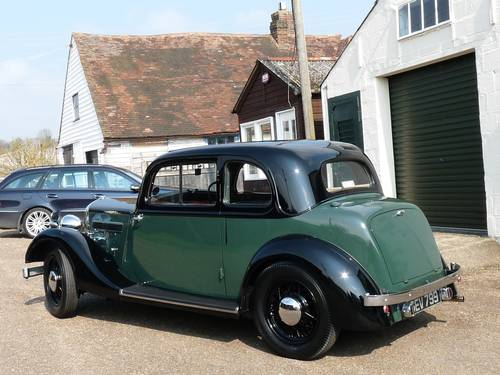 Rover 10 Doctor's Coupe, beautifully restored, SOLD SOLD (picture 6 of 6)