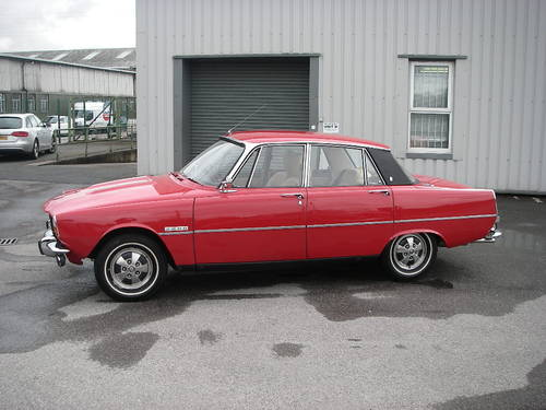 1972 ROVER P6 Series Two 2000SC Manual Saloon ~  SOLD (picture 1 of 6)