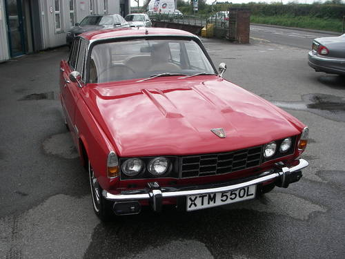 1972 ROVER P6 Series Two 2000SC Manual Saloon ~  SOLD (picture 2 of 6)