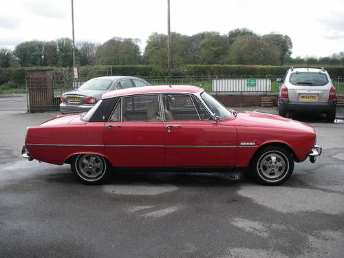 1972 ROVER P6 Series Two 2000SC Manual Saloon ~  SOLD (picture 3 of 6)