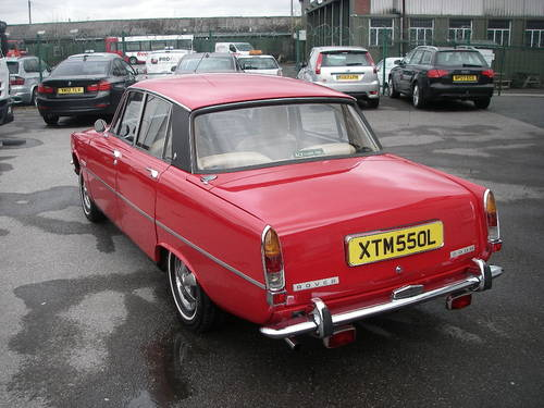 1972 ROVER P6 Series Two 2000SC Manual Saloon ~  SOLD (picture 4 of 6)