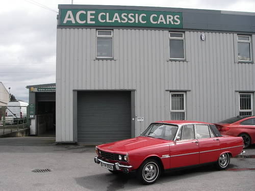 1972 ROVER P6 Series Two 2000SC Manual Saloon ~  SOLD (picture 6 of 6)