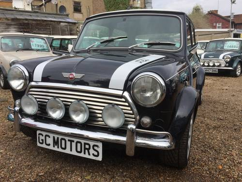 1998 Rare Rover Mini Cooper Sport 5 in Anthracite For Sale (picture 2 of 6)