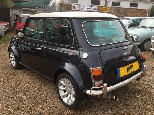 1998 Rare Rover Mini Cooper Sport 5 in Anthracite For Sale (picture 3 of 6)