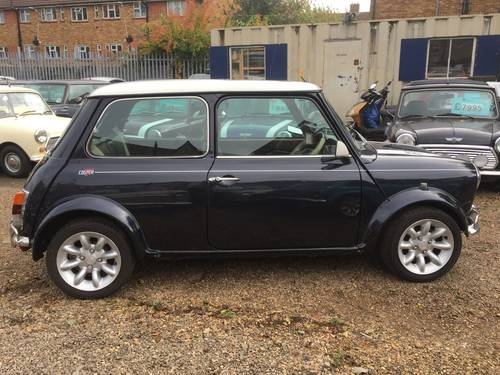 1998 Rare Rover Mini Cooper Sport 5 in Anthracite For Sale (picture 4 of 6)