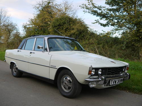 1974 ROVER P6 3500 V8 62K MILES WITH HISTORY PAS WEBASTO ROOF!! SOLD (picture 1 of 6)