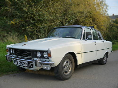 1974 ROVER P6 3500 V8 62K MILES WITH HISTORY PAS WEBASTO ROOF!! SOLD (picture 2 of 6)